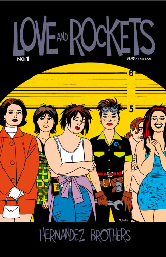 old: twenty years of maggie, from the cover of love and rockets vol 2 no 1